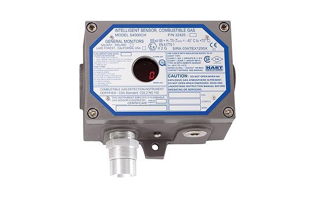 Detector de Gás combustível S4000CH