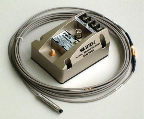 Transdutor sem contato para descolamento/Vibração Série VK