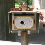 Detector de gás industrial
