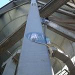 Medição de nível de silos
