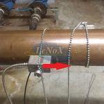 Medidor de vazão magnético indutivo