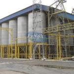 Pesagem de silos