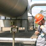 Sensor de gás industrial